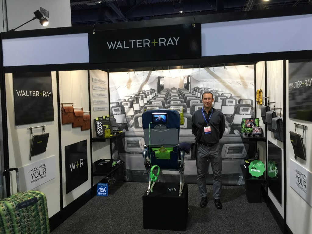 Ron Rodrigues at Travel Goods Show