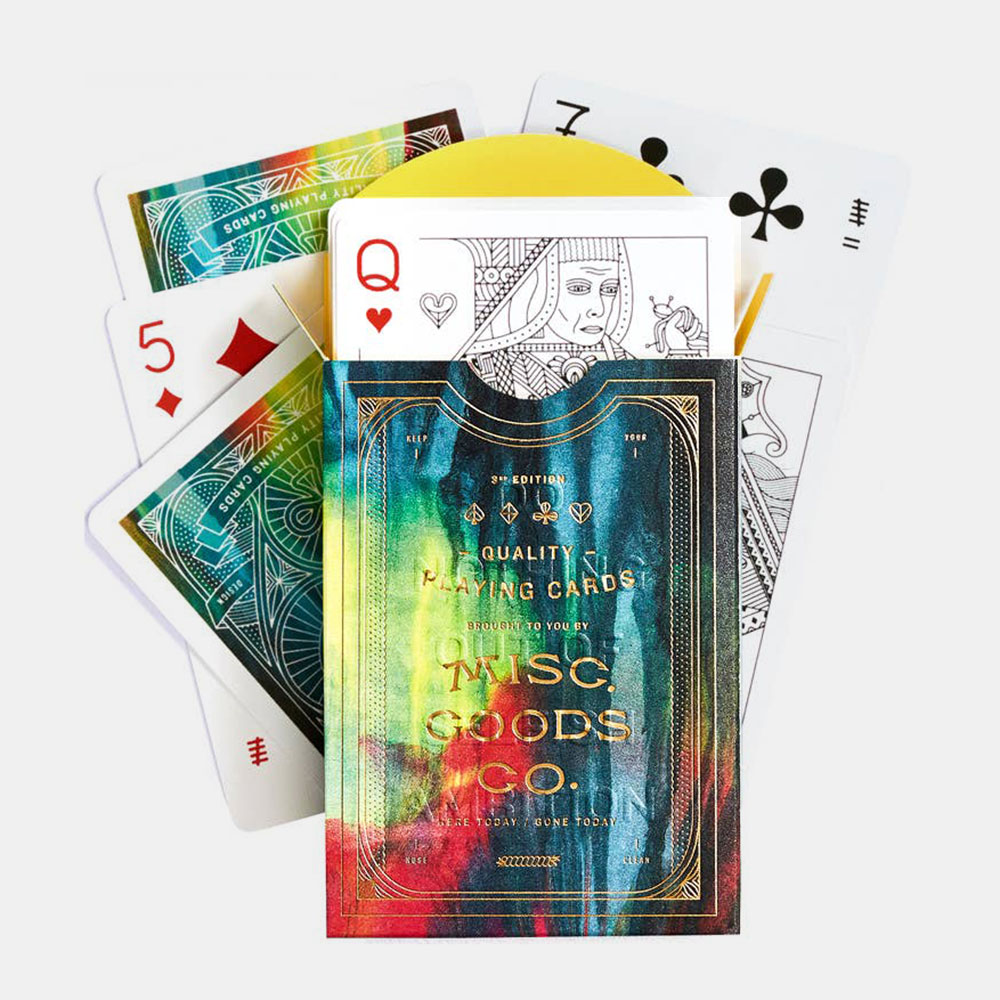 Misc. Goods Co. Cina Deck Of Playing Cards